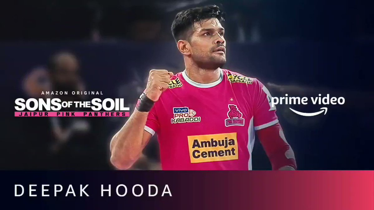 Meri zindagi ka safar aasan nahi raha, par bada hi yadgaar raha hai. Baniye mere iss safar ka hissa. #SonsOfTheSoil New Series, Dec 4 on @PrimeVideoIN. @juniorbachchan @JaipurPanthers