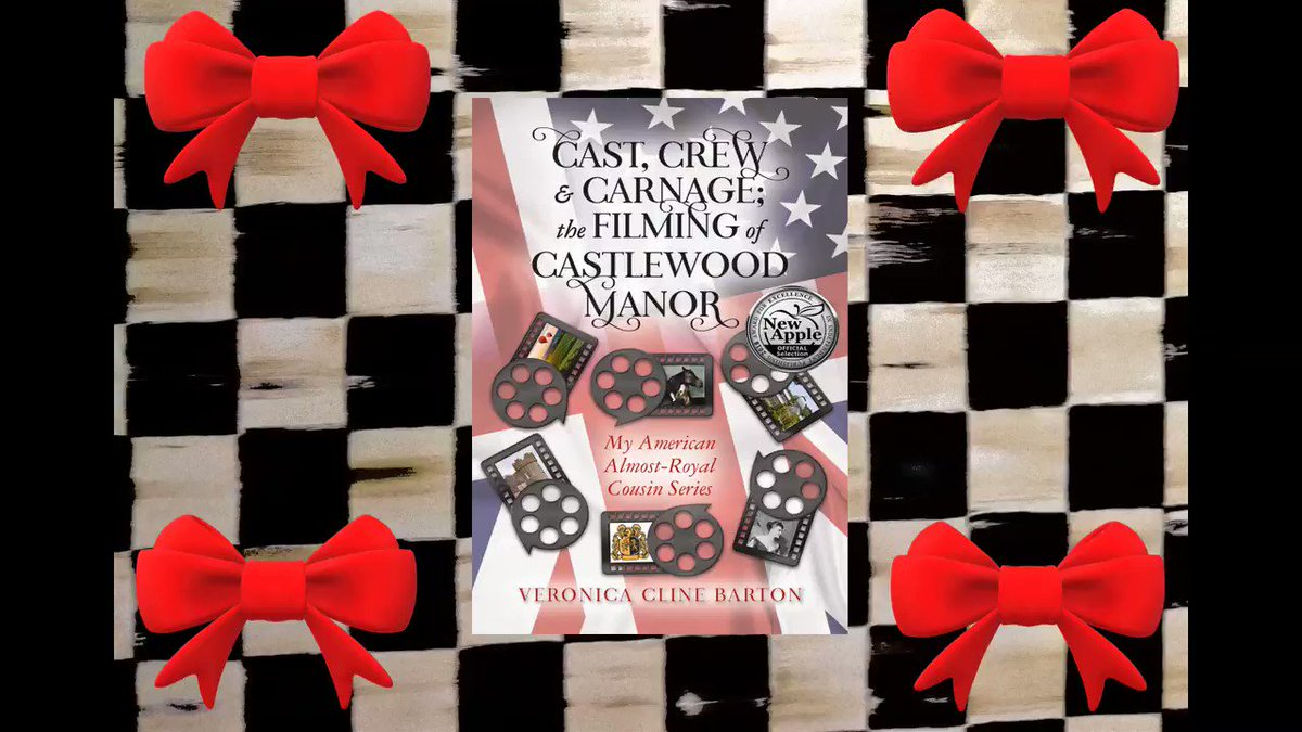 "🎀👑Cast, Crew & Carnage: The Filming of Castlewood Manor👑🎀  5⭐️""There is #murdermystery and mayhem in this wonderful cosy #romance...Well done to the #Author, fabulous!""💖👑🕵️‍♀️🍸 #CozyMystery #BookLovers #Readers #ChristmasGiftIdeas #CyberMonday   🎀🎀"