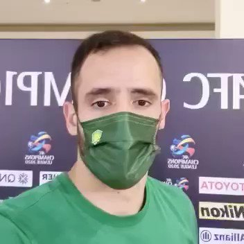 🤳 The #BJGvFCS Man of the Match, Renato Augusto, with a message for the fans.   #ACL2020
