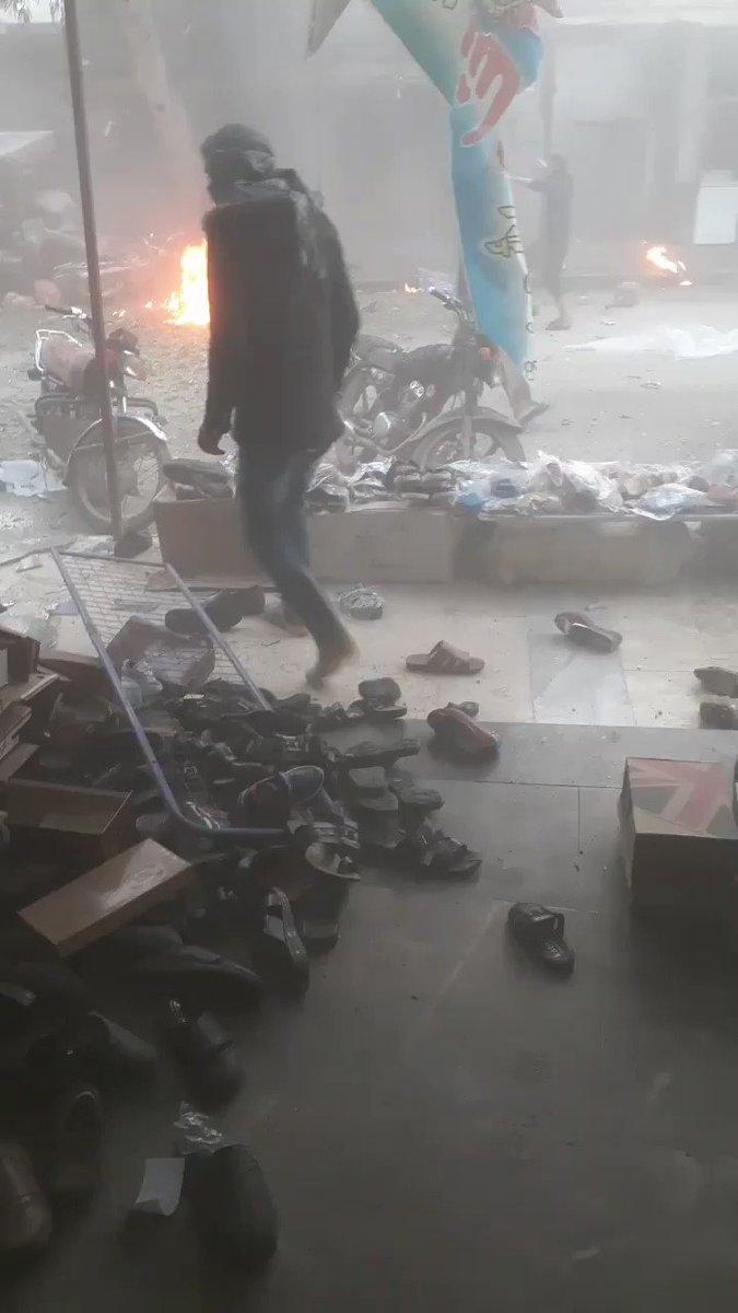 #عاجل جرحى مدنيين جراء انفجار دراجة نارية مفخخة بجرابلس شرق حلب. #سوريا #حلب