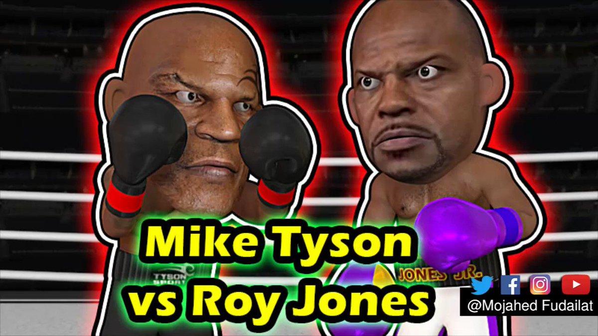 Mike Tyson vs Roy Jones legends exhibition fight #Boxing #Animation #3DArt  https://t.co/rdtlaAlRUX https://t.co/89OjzP0lhy