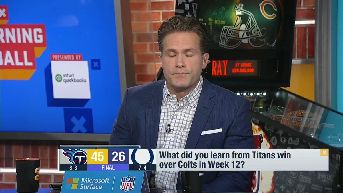 """""""The @Titans have a bunch of stars. Tannehill, Henry and A.J. Brown were all fantastic on Sunday. But there may have been no better performance --or story-- than their starting left tackle, David Quessenberry.""""  --@PSchrags"""
