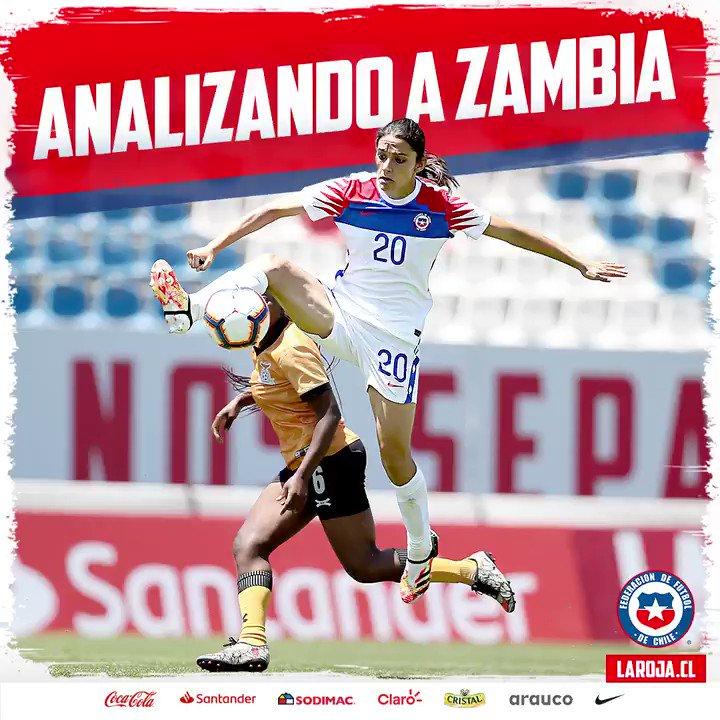 🇨🇱😍 En #LaRojaFemenina analizan de esta manera el partido ante Zambia y qué deben mejorar de cara a la revancha de este martes 1 de diciembre (18:30 hrs.)  🎥🎙 Así lo cuenta Daniela Zamora.   #Chile #LaRoja #SelecciónChilena