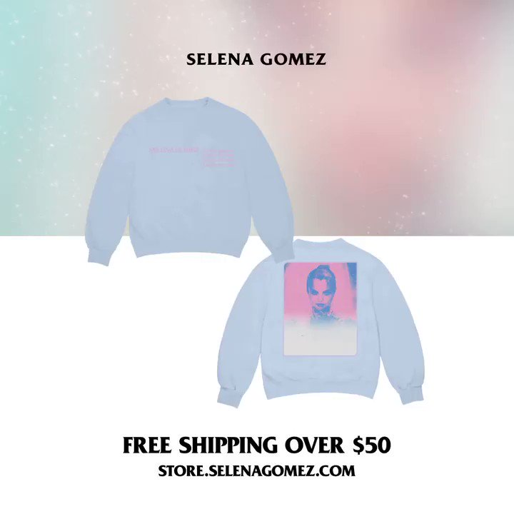 Replying to @SelenaFanClub: Last day to get free shipping on orders over $50 at !