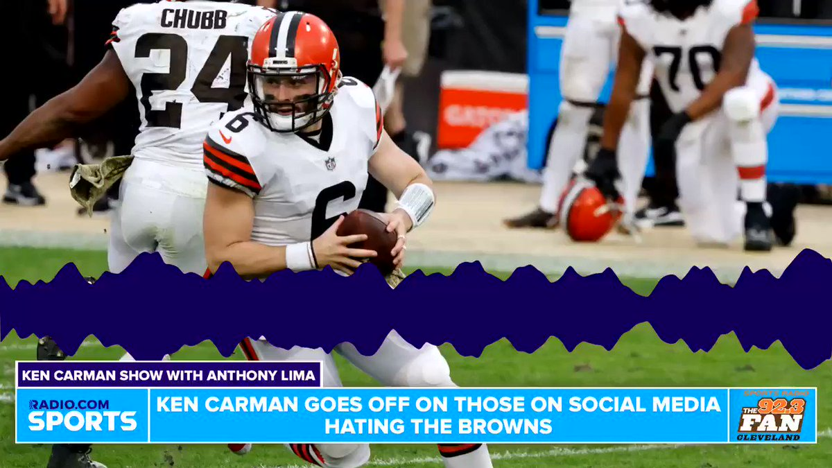 Ken Carman has a message for the Browns fans complaining when the team is 8-3.