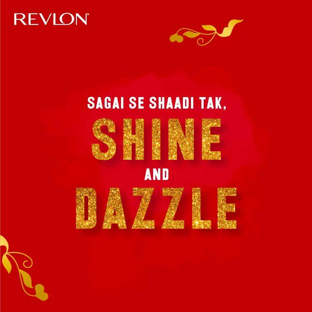 From sagai to shaadi, get every look right this wedding season with Revlon Super Lustrous Lipstick. Visit  to check out the entire range.  #Revlon #RevlonIndia #WeddingPreparation #WeddingSeason #WeddingMakeUp #RevlonSuperLustrous #LipStick #MakeUp #Beauty
