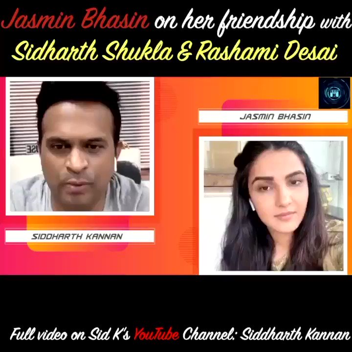 #JasminBhasin opens up on her friendship with #sidharthshukla & #rashamidesai   Watch the full video on my @youtubeindia channel:   #Sidk #SiddharthKannan #JasminBhasin #BiggBoss #biggboss14 #BiggBoss2020 #Sidnaaz