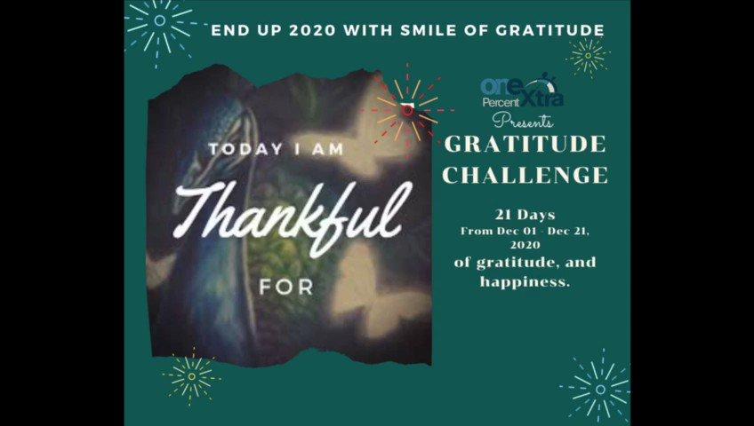 21 Days Gratitude Challenge....  #lifecoach #motivation #coaching #inspiration #mindset #selflove #life #mentalhealth #mindfulness #entrepreneur #personaldevelopment #happiness #shyamalagandhimani #goals #loveyourself #onepercentextra #motivationalspeaker #gratitudechallenge2020