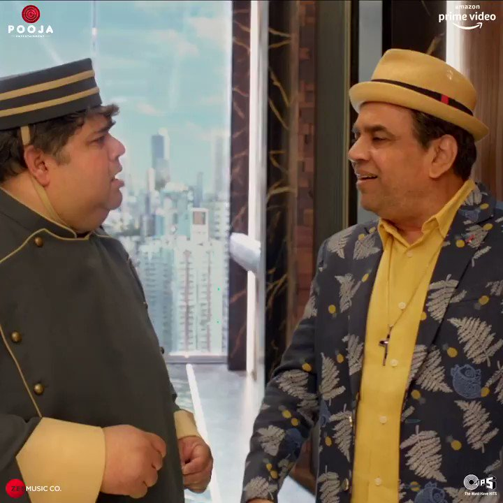 .@SirPareshRawal ho, toh comedy on point hogi hi na! 😁 Check out all the funny bits starring him and the cast in the trailer! ✨   #CoolieNo1OnPrime, premieres 25th December on @PrimeVideoIN   @Varun_dvn #SaraAliKhan #DavidDhawan @vashubhagnani @jackkybhagnani @honeybhagnani