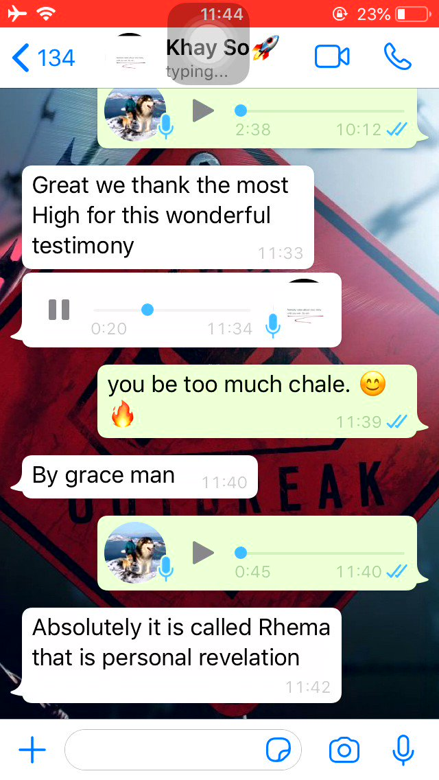 There is a grace that opens your eyes to scriptures🕊  I'm proudly to announce to you that my brother has been entangled with that grace 🥺🔥🔥😊🕊🙏🏼🤗 #MOG #blessings #FAITH #Jesus #God #Bible #Scriptures