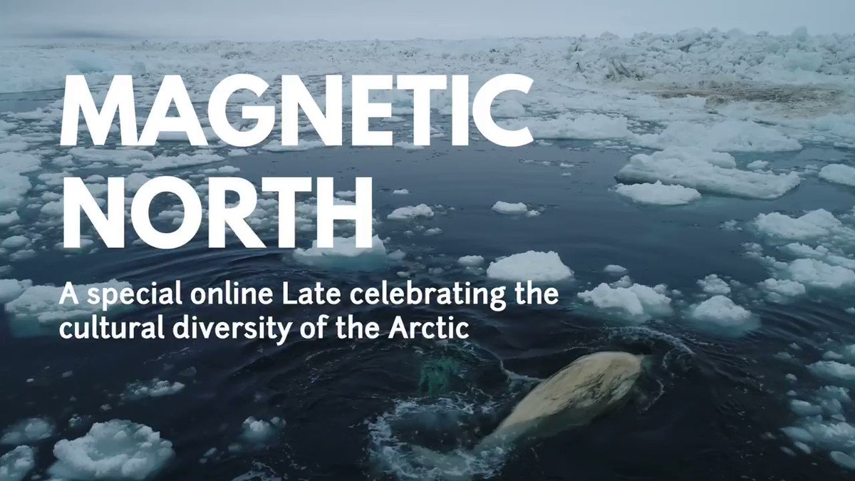 Two days to go! ⌛ Dont forget to set your Youtube reminders youtu.be/4FgCmtXwlO8 Magnetic North is presented in partnership with @britishmuseum and is part of the public programme accompanying the Citi exhibition Arctic: culture and climate.