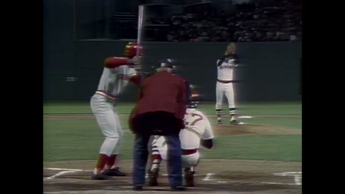 Happy birthday George Foster. Bernie Carbo has a present for you!