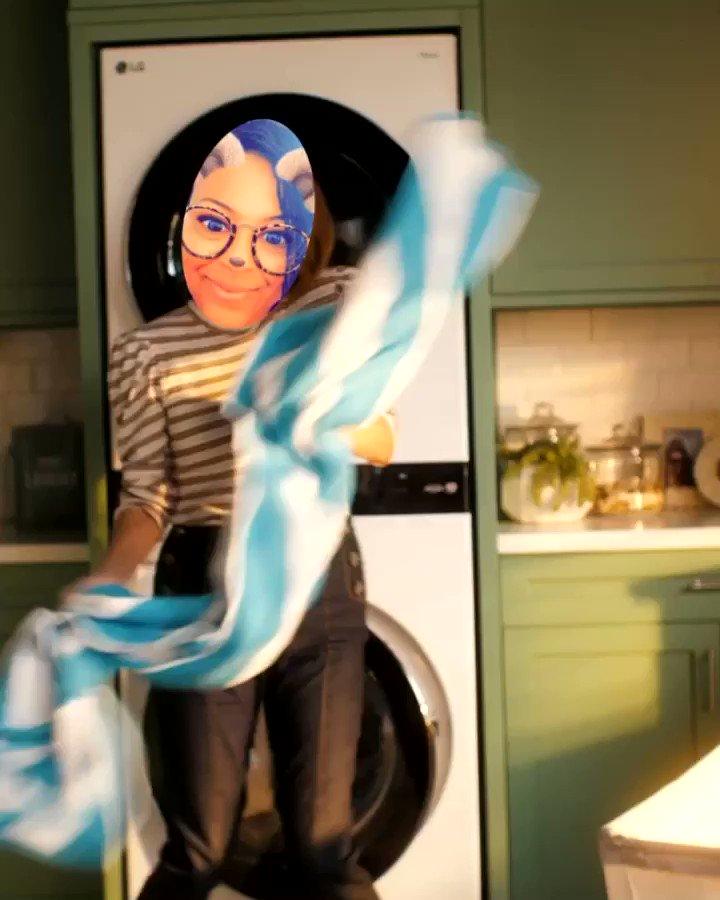 #babyigotyourlaundry check out my boogie down moves #BabyIGotYourLaundry #LGSweepstakes #LGPartner @LGUS @LGUSAMobile