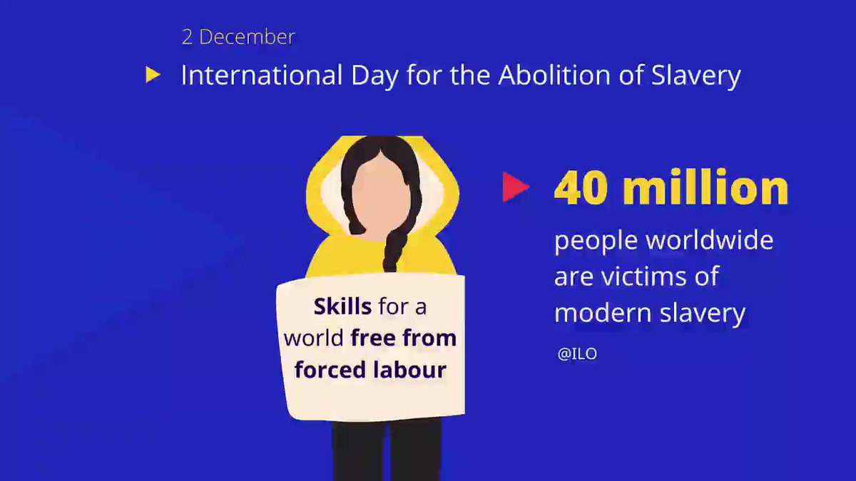 Forced labour affects millions of women, men, and children worldwide. Skills development has an important role to play to raise awareness, prevent, and support the recovery and reintegration of victims.   Today, the @ilo is launching two Global Guidelines: