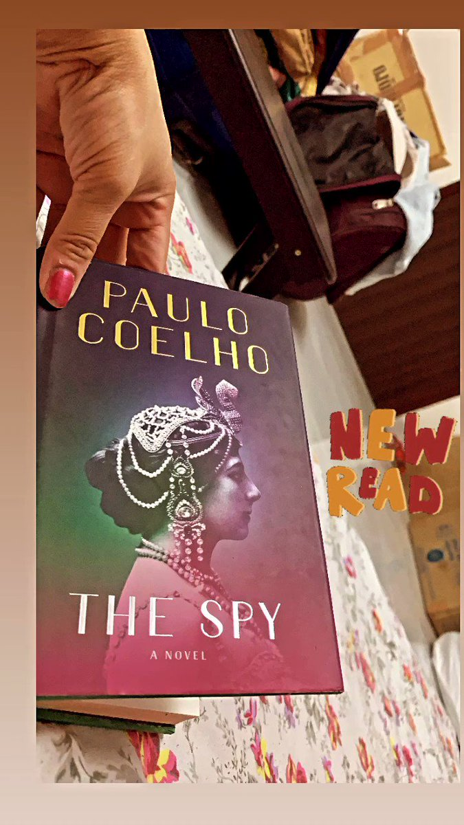 New Read #Thespy #PauloCoelho #bookworm #amreading #BooksToRead #books #readingisblissful ❤️  Hope for better month when it comes to@my reading habits  #gettingbacktooldhabits #readingfc   Any suggestions for next read/ book for this ? Share what you all are reading.
