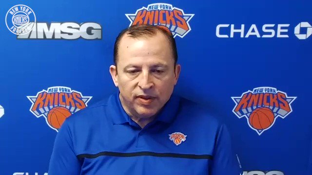 Knicks head coach Tom Thibodeau on the tone for training camp ⬇️ https://t.co/TE66eB7OaI