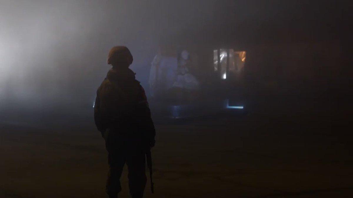 """القوات الأذربيجانية تدخل """"لاتشين"""" ثالث وآخر إقليم تستعيده من #أرمينيا #أذربيجان #الميادين_Go"""