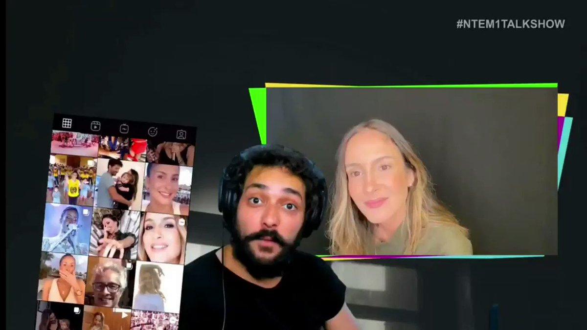 Já tá no @globoplay o episódio do #NTEM1TALKSHOW, do @edu, com Claudia Leitte e @Tirullipa. Corre lá que as gargalhadas são garantidas!  | Time CL