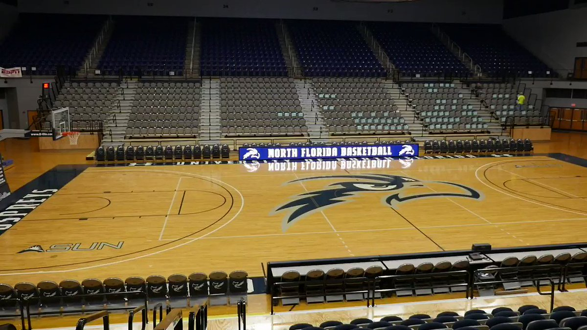 UNF Arena is quiet now but we cant WAIT to have all of #OspreyNation make it LOUD for us this season! Basketball season tickets are officially on sale now!