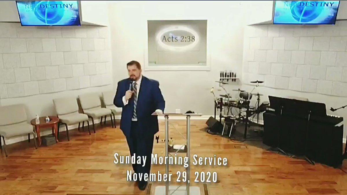 Sunday Morning Service  November 29, 2020 Romans 2: 12-19  #NewDestinyMinistryCenter  #SundayMorning  #TruthMatters