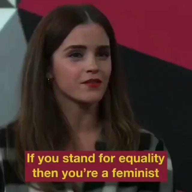 🙋♀️Le féminisme est une question de liberté, c'est aussi une question de libération et d'égalité. Thank you @EmmaWatson  #diversity #Equality #girlboss #inspiration #strongertogether #womenempowerment #sistership  #speakup #empowher #dayofthegirl #feminism #feminist #Empowerment