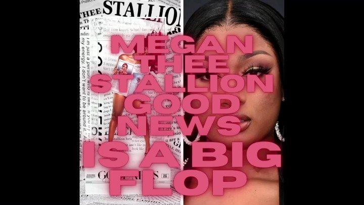Megan Thee Stallion Good News IS A BIG FLOP. #GOODNEWSMEGAN #MeganTheeStallion