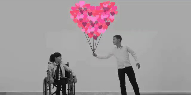 Sharing one of my favourite moments from a #UNICEF video. Big shout out to everyone on #ThisAbility. #InternationalDayOfPersonsWithDisabilities #ForEveryChild