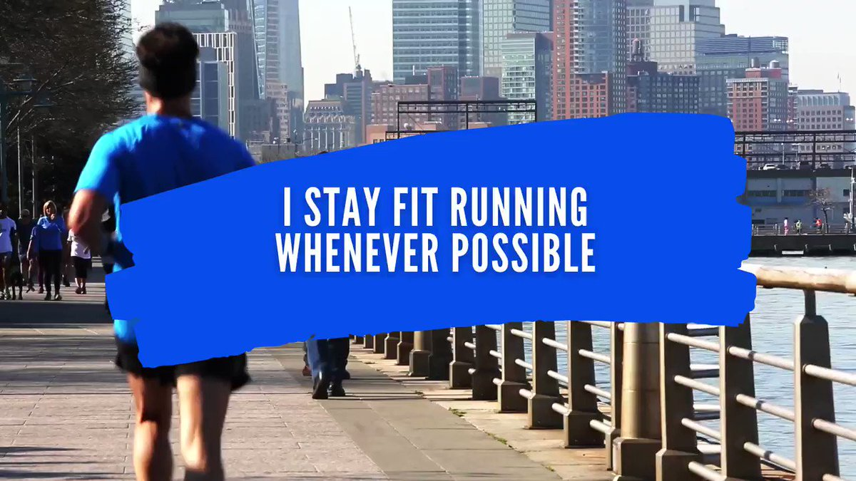 I stay fit running whenever possible #wednesdaythought #FreePS5Wednesday #Spotify #pmqs #vaccination #AppleMusic #WednesdayMotivation #2020Wrapped