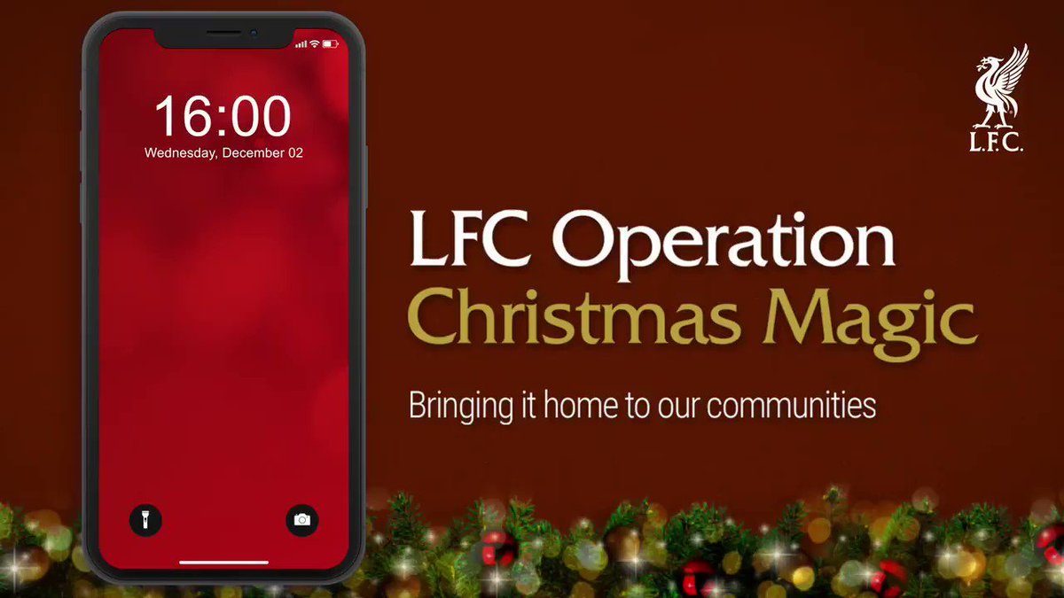 Reds, we want to make sure no child wakes up on Christmas Day without a present.  We'll be donating 1000 toys to @RadioCity's #MissionChristmas appeal.  To support, toys can be donated in our Liverpool & Chester stores or find out more info at    YNWA ❤