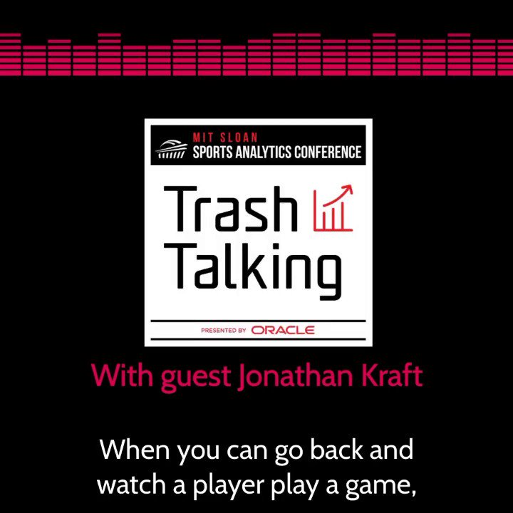 On this week's episode, Jonathan Kraft, President of the @Patriots @NERevolution & @BostonUprising , shares his thoughts on how individual player analytics & biometric data can impact game strategy & his vision for the future of analytics in sports w/ @jessicagelman & @dmorey https://t.co/blsHLBLoNc