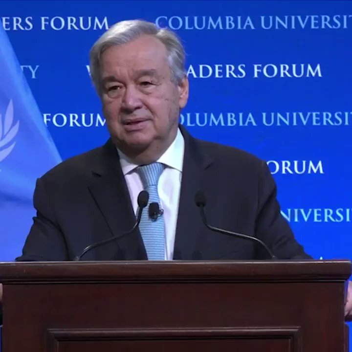 Mindsets are shifting. More & more people are understanding the need for their own daily choices to reduce their carbon footprint. Young people are pushing their elders to do whats right. -- @antonioguterres on the need for #ClimateAction bit.ly/36vSOFt