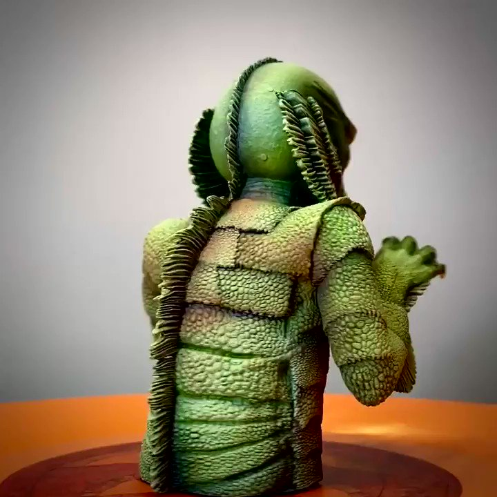 The monster you've been waiting for breached the lagoon! THE CREATURE FROM THE BLACK LAGOON Spinatures drop this Friday! Sign up to our newsletter at the link in our profile for details!