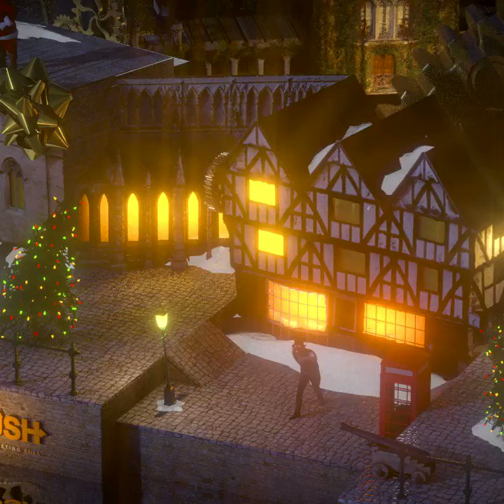 Merry Christmas Lincolnshire! How many landmarks can you spot in our new infinite 3D animation celebrating all things Lincoln this Christmas? And who's that silly man dancing in the Steampunk hat? Oh yes, that'll be me @visitlincoln #C4D #RedShift #LincsConnect  #Lincolnshire