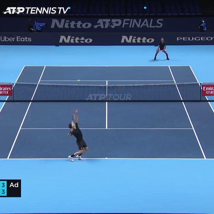 If tennis players swapped grunts 😂  @RafaelNadal | @ThiemDomi https://t.co/bMVITE0dQW