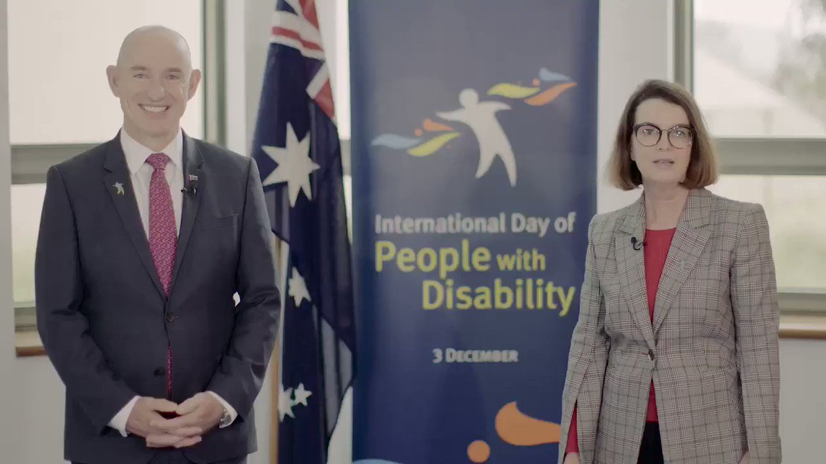 Today on International Day of People with Disability let's celebrate the contribution Australians with disability make to our nation. People with disability should have the same opportunities as any other person where we focus on the ability, not disability, of every Australian.