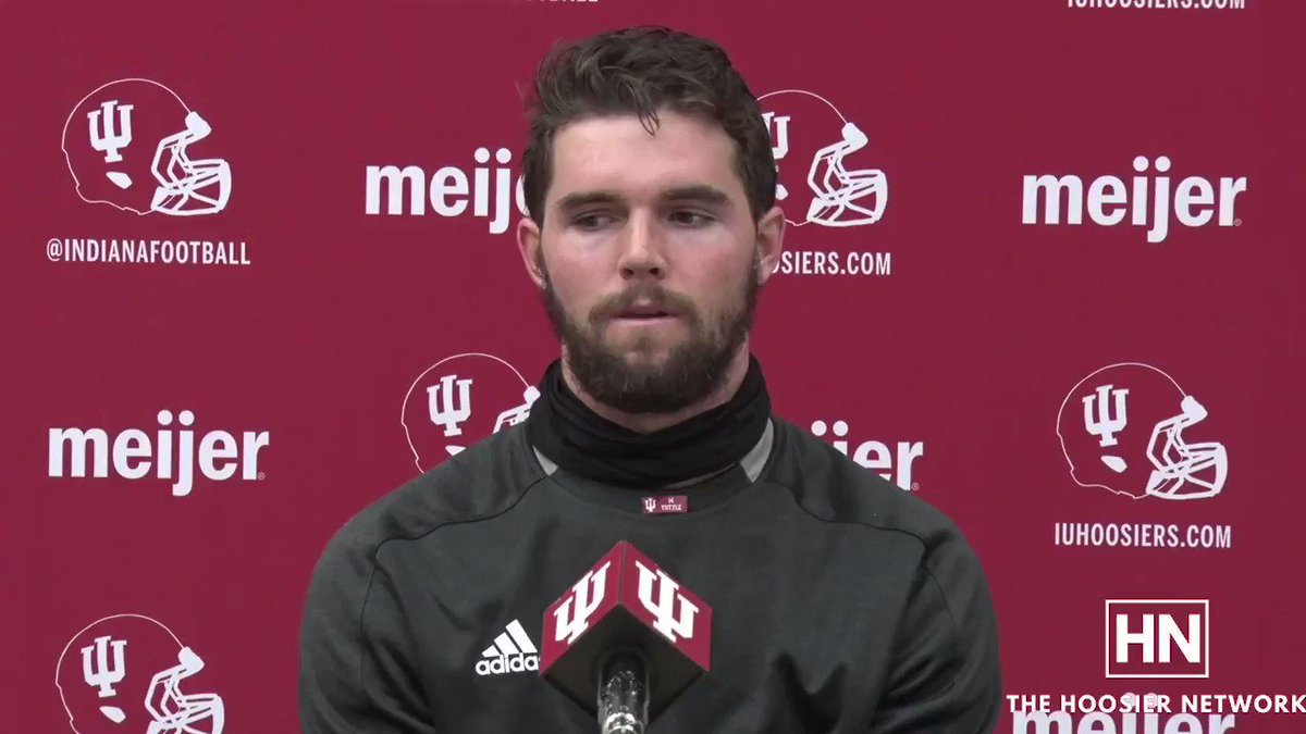 @CoachAllenIU said Jack Tuttle was the first person at the team's walkthrough before facing Maryland, even as the backup.   This mentality started in high school, and has helped @jacktuttle14 prepare to step in as Indiana's starting quarterback. #iufb #LEO