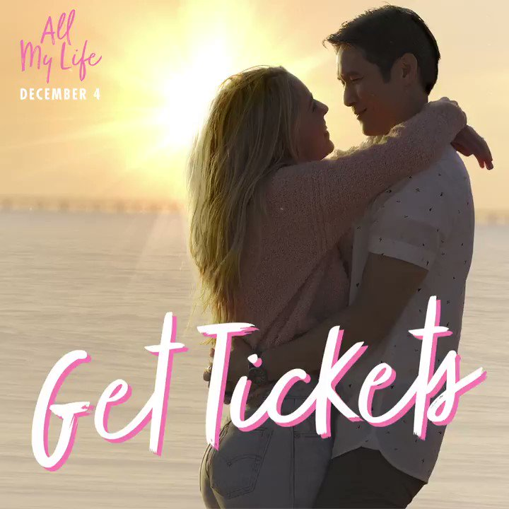Get your tickets 🎟 and get ready to fall in love with #AllMyLife! 💘 In theaters this Friday! #SignInAndSave through #EXTRAS Now:  #MakeItICONIC