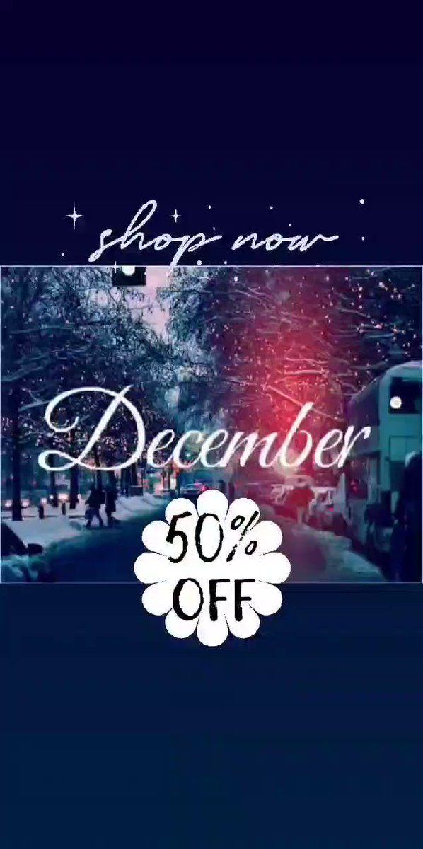 Head over to   To receive your code for 50% off your order  #BlackFridayDeals  #Christmas  #gifts #family #sale #f4f #Retail  #retweet