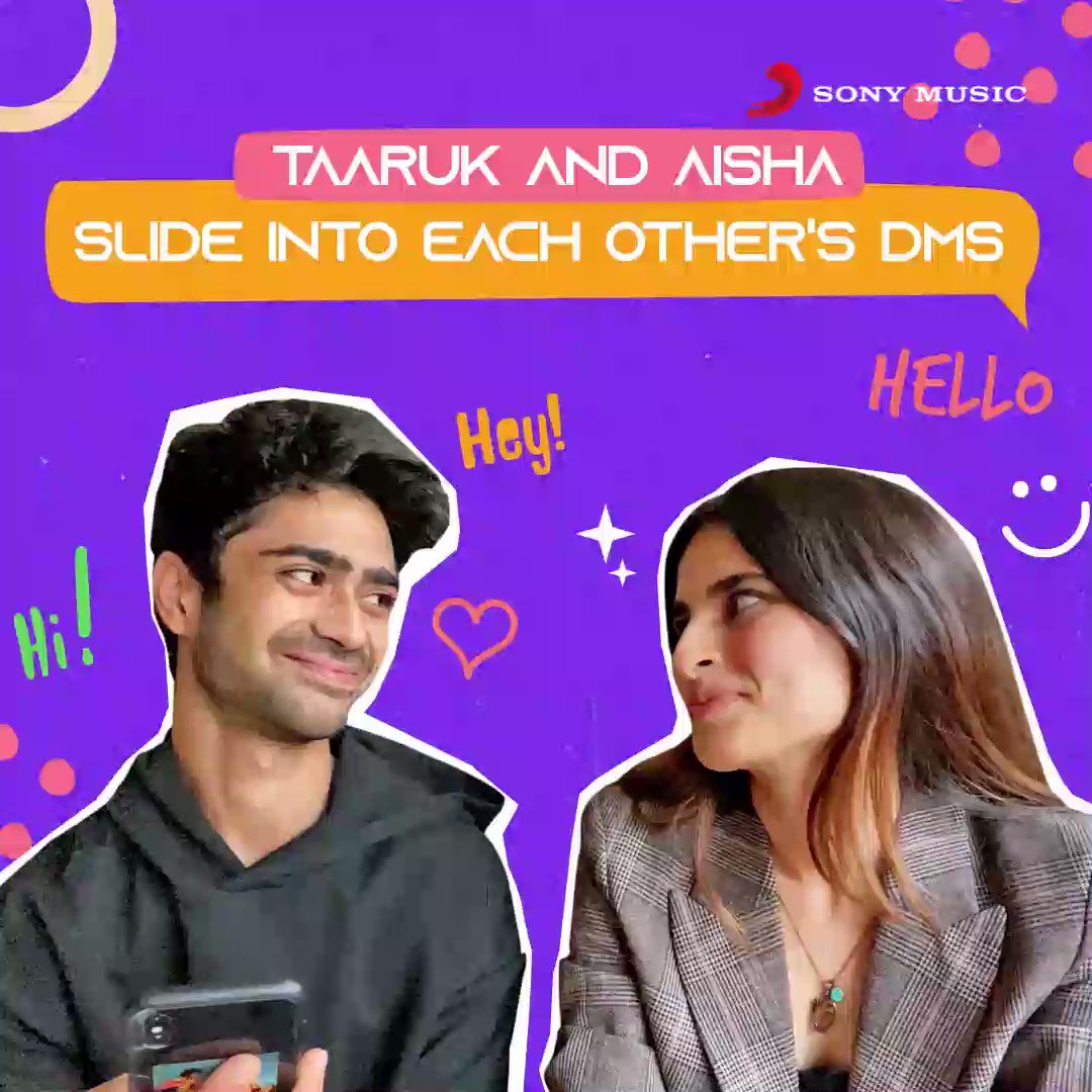 When @taaruk & #AishaAhmed slid into each other's DMs 😂😂 A lot of fun & DRAMA! Can you guess the DMs?    #aishaahmed #sukoon #love #breakup #breakupsongs #heartbroken #newrelease #newsong #outnow #thursdaymorning #thursdayvibes #Thursday @taaruk