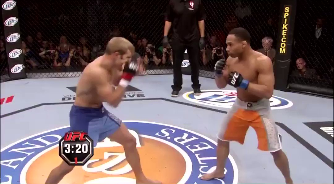 Nine years ago today, John Dodson finished TJ Dillashaw in the first round to win The Ultimate Fighter  #UFC #TUF  https://t.co/5SNuUBexXL