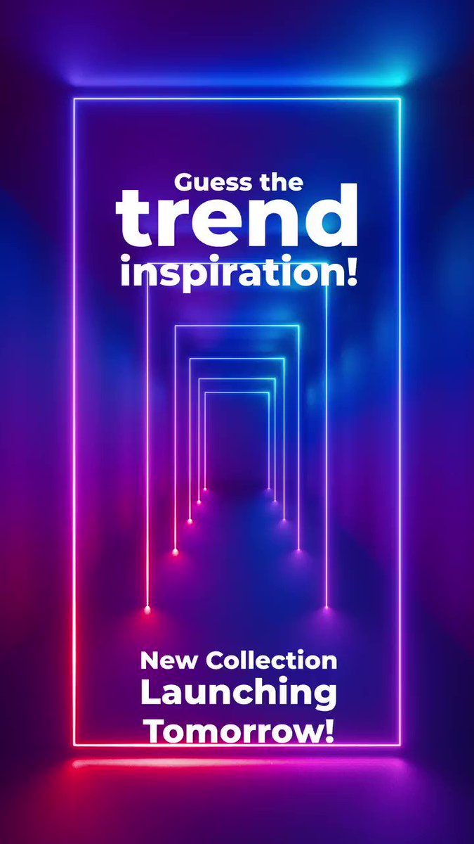 Can you guess the trend inspiration for our new collection launching tomorrow?  #Melorra #NewCollection #TrendInspiration