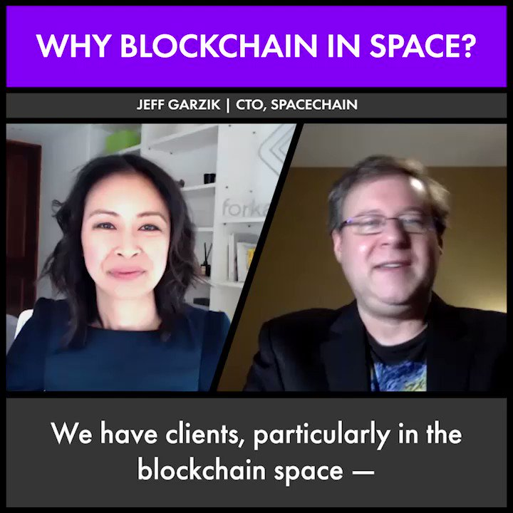 SpaceChain CTO @jgarzik on how blockchain technology could transform the commercial space industry as well as improve internet access around the world. On the go? Listen to the podcast on Spotify: https://t.co/7SLlff1ljM