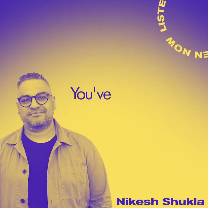 New podcast episode is out and this week we're catching up with @nikeshshukla💥 Writer, editor, mentor and also known as gal-dem's godfather, Nikesh is an important force in the literary world, so we spoke to him about his career so far. Listen here: pod.fo/e/aa80a
