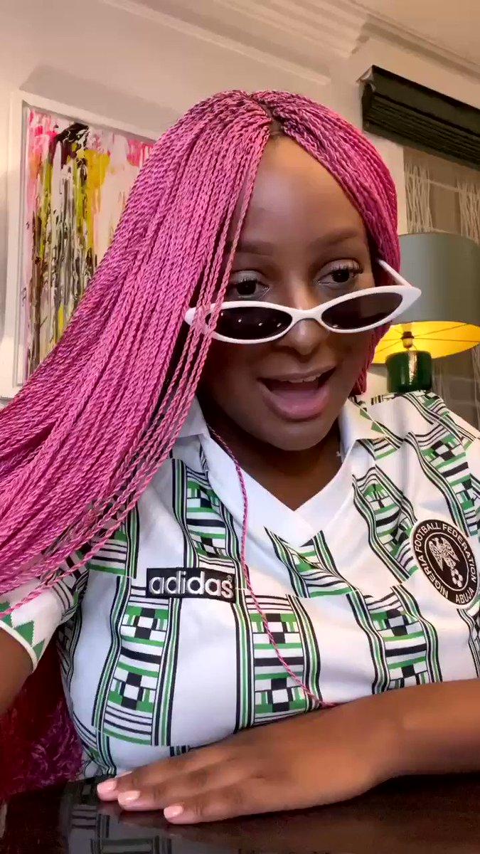 Gotta love our dear Nigerian journalists 😅😂 #CuppyDat
