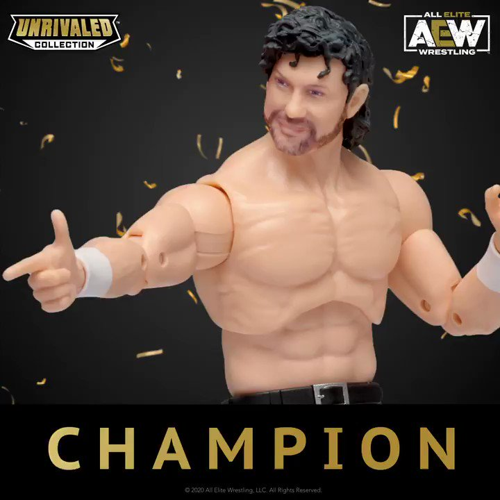 @KennyOmegamanX is the new AEW World Champion! Did you watch the match? Reply and tell us your thoughts ⬇️ Find Kenny Omegas figure at Walmart (Availability may vary) #AEW #AEWUnrivaled #Jazwares #WinterIsComing @AEwrestling