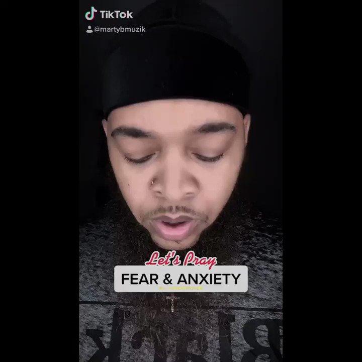 "PRAYER: FEAR & ANXIETY • DROP AN ""AMEN"" IN THE COMMENTS • #MartyBMuzik #worshipleader #pray #prayer #fear #anxiety #freedom #christian #influencer #creator #explore #trending #25daysofprayer"