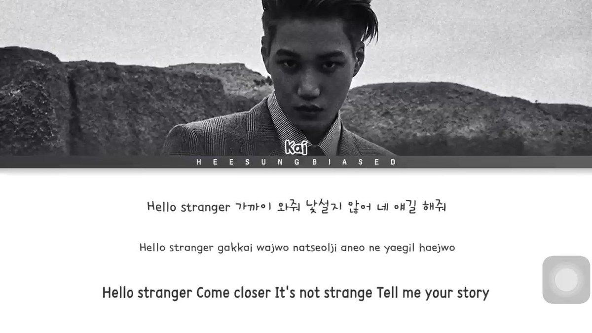"""@RecordingAcad #Music🎶: """"Hello Stranger"""" by KAI  I▶️this B-side track & his self-titled debut EP💿'KAI' frequently.  ▶️🎧Song: """"Hello Stranger""""🎵:  #MomentsWithKAI #KAI #K开I #EXOKAI #엑소카이 #HappyKaiDay #ArtistKaiDay #Music #Artist @weareoneEXO"""