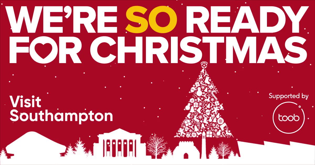 After putting this on hold due to national lockdown restrictions we are pleased to announce that we have launched our Visit Southampton 'We're SO ready for Christmas' consumer campaign which will encourage visitors to return to the city centre post-lockdown. #OurSouthampton