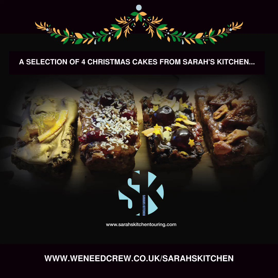 Sarah's Kitchen is a touring catering company who usually serve big teams of artists and crew their food on the road.  Vegan option available 🌱 Boxes are £24.95 inc. delivery.  All profits made will be donated to #WENEEDCREW   To order head to