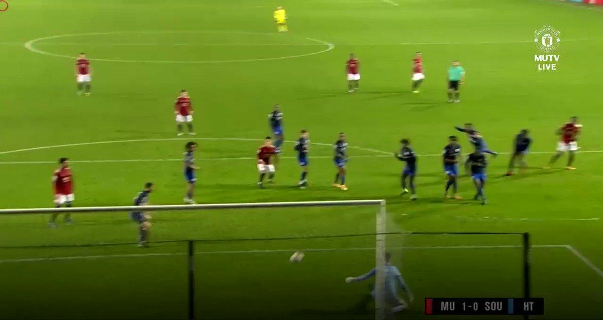 Anthony Elanga's goal to open the score against SOU.